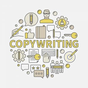 Copywriting Concept Illustration